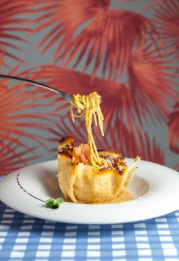 Spaghetti carbonara alla ciociara-min