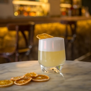 Whiskey Sour - Café Madrid (1)